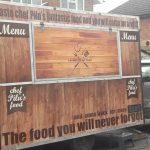 Food Van Signage in London