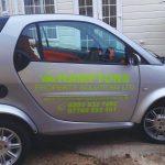 Small car signwriting