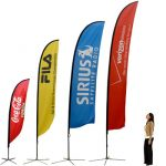Large format Printing Flags in London