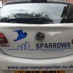 Car signwriting London